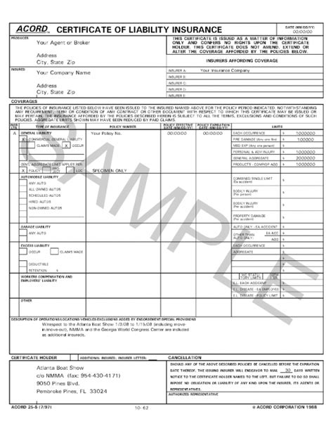 acord form fillable acord form 37 images