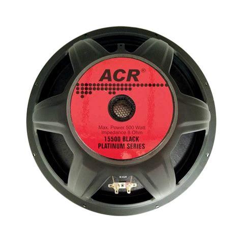 Speaker Acr Berbagai Ukuran jual acr type 15500 speaker 15 inch harga kualitas terjamin blibli