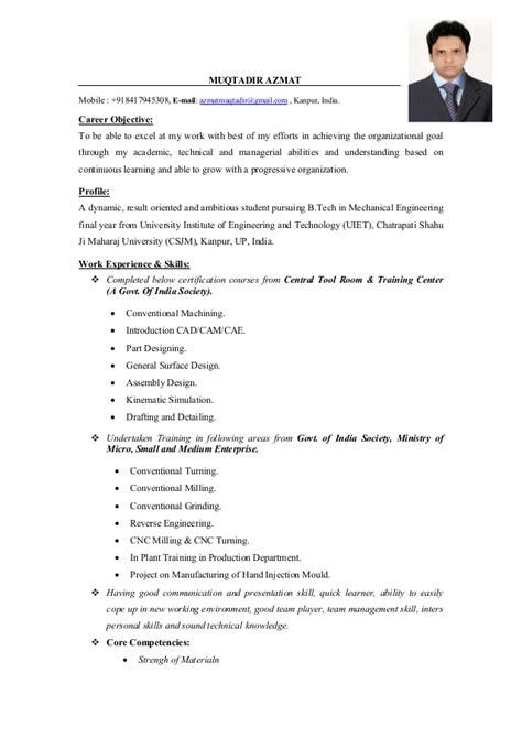 mechanical engineering resume sample lukex co