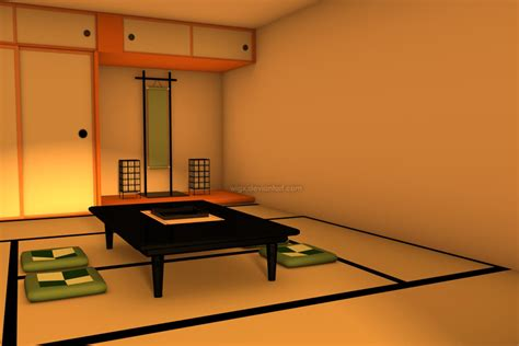 What Is A Tatami Room Used For by 3d Tatami Room By Wigx On Deviantart