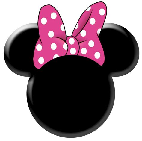 minnie mouse templates minnie mouse silhouette template clipart best