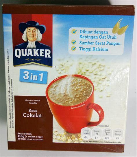 jual quaker oat makanan tinggi serat  kalsium  lapak