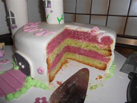 kuchen selbst machen filly schloss torte zum 3 geburtstag meiner maus