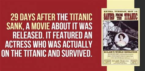 titanic film unknown facts 19 mind blowing titanic facts you need to know right now