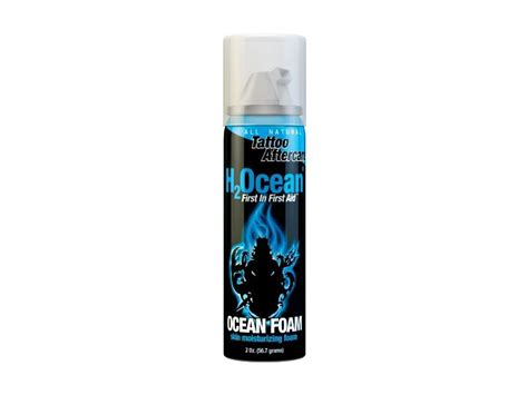 h2ocean tattoo care review h2ocean ocean foam tattoo aftercare 2 ounce ingredients