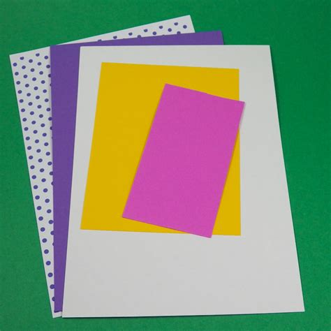 How To Make A Paper Birthday Card - card idea v fold pop up birthday card tutorial