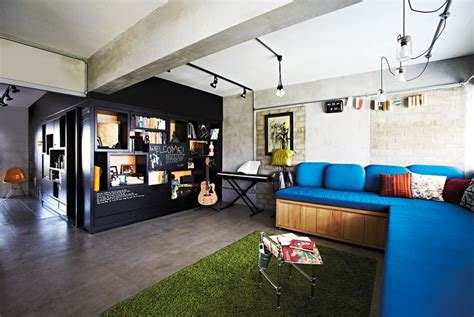 an open concept 3 room hdb flat home decor singapore
