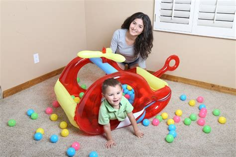 Murah Bestway Splash And Play Helicopter Ballpit 52183 Jual Bestway Splash And Play Helicopter Ballpit 52183 Di
