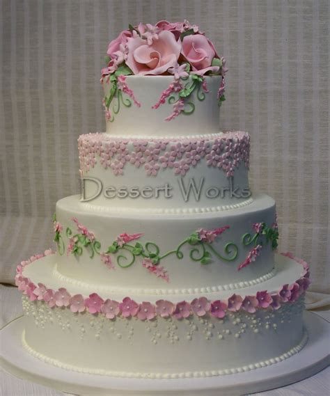 Different Types Of Wedding Cakes by Dessert Works Bakery Garden Inspired