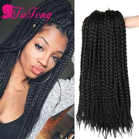 braided hairstyles with jumbo braiding hair box braids hair synthetic hair extensions kanekalon