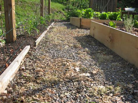 Cheap Garden Gravel Got Weeds Use Vinegar Not Roundup