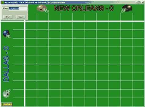 football pot template bowl 2015 pool printable squares new calendar template