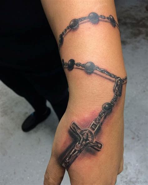 3d rosary tattoo 30 cool rosary tattoos on