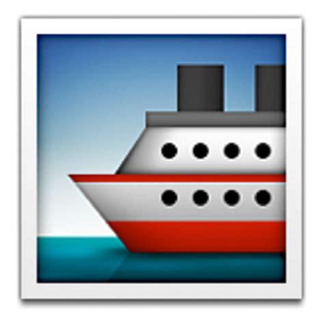 ferry boat emoji ship emoji u 1f6a2 u e202