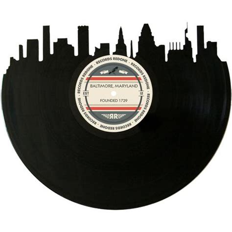 Baltimore Records Vinyl Record Skyline Records Redone