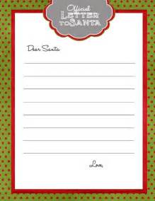 blank letter from santa template templates letters from santa 2014 search results