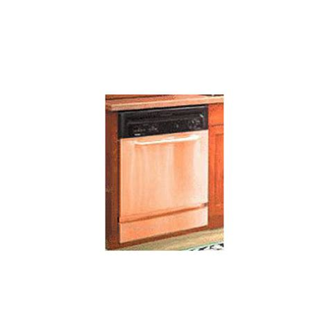 copper appliances kitchen accessories unlimited copper dishwasher frame panel set by stainless craft