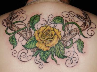 rose branch tattoo butterfly tattoos flower design new
