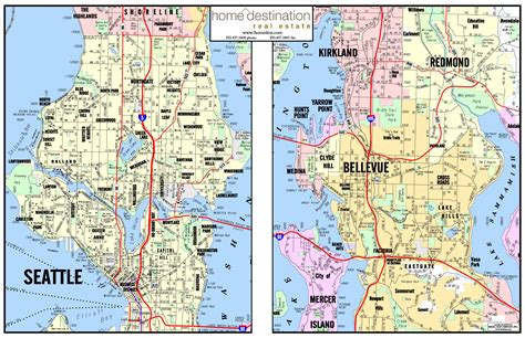 area map home destination real estate seattle and puget sound area map