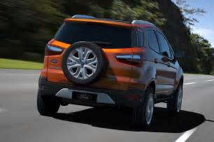 ford new car ecosport ford ecosport crossover concept with 1 0 liter ecoboost