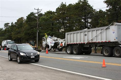 traffic leaving cape cod today route 6 u s 6 roadwork in wellfleet