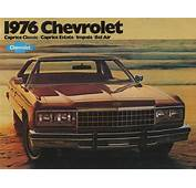 GM 1976 Chevrolet Sales Brochure