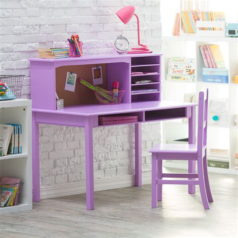 kid desk and chair set guidecraft media desk chair set lavender desks
