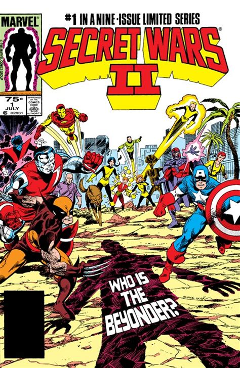 secret wars secret wars b01bl1e3nq secret wars ii 1 9 1985 1986 getcomics