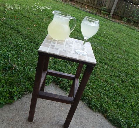 Diy Patio Side Table by Hometalk Small Table Cupboard Makeovers Valerie S
