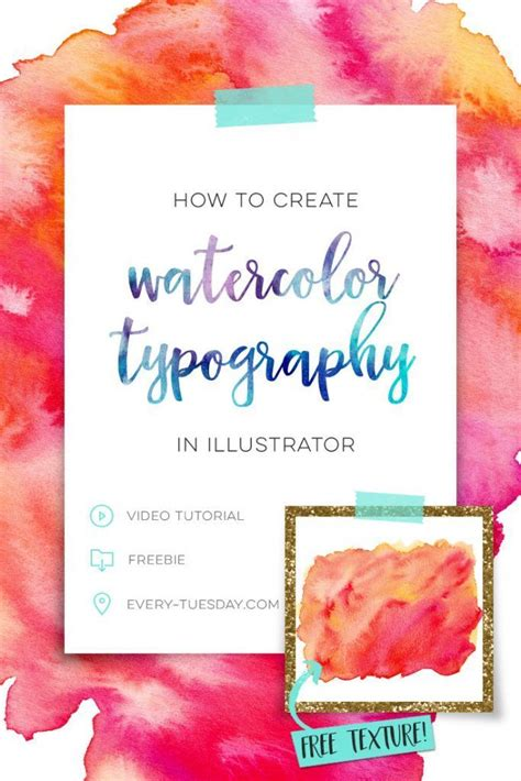 watercolour quotes tutorial best 25 watercolor typography ideas on pinterest