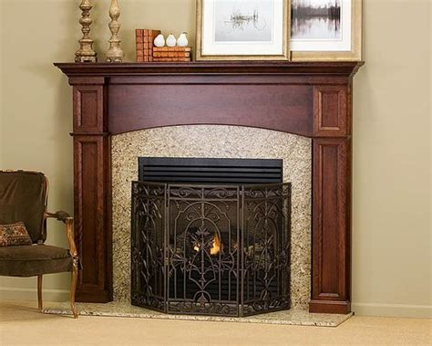 this is the davenport wood fireplace mantel shown in