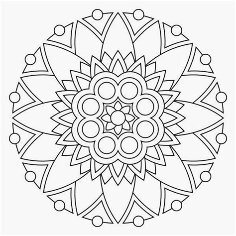 Mandala Coloring Pages To Print For Free printable coloring pages