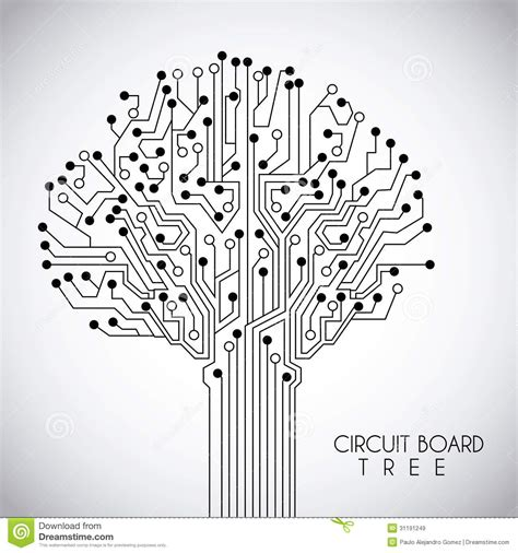 circuit design circuit design stock vector image of idea maze energy