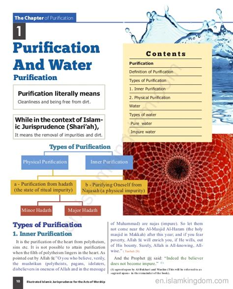 Purifying Wah Bellezkin purification and water