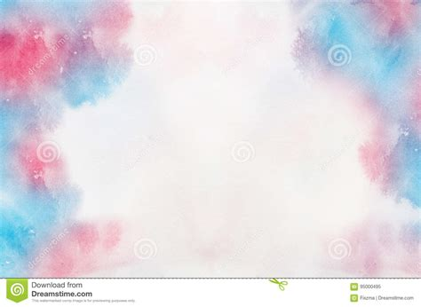 abstract pastel watercolor background stock illustration