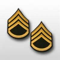 Us Rank Gold us army rank mens gold green e 6 staff sergeant ssg