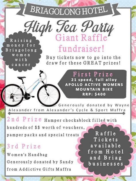 Daffodil Tea Detox by High Tea Raffle Poster By Montague High Tea
