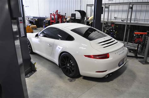 porsche 911 custom 911 991 porsche custom fabricated exhaust rear section