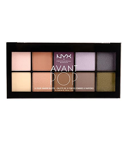 Miss Selfridge And Makeup Palettes by Nyx Professional Makeup Avant Pop Shadow Palette In