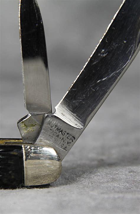 medium stockman 1960s kutmaster delrin medium stockman pocket knife