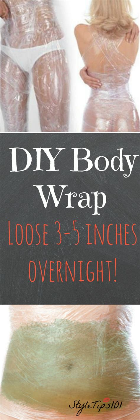 Diy Detox Wrap Recipe by Diy Wrap For Weight Loss