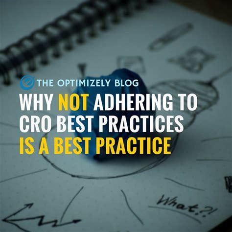 best practice conversion rate optimization best practice ignore best