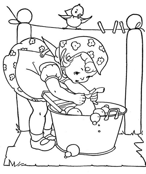vintage baby coloring pages vintage coloring book pages coloring home
