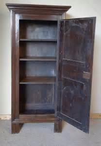 Narrow Armoire Wardrobe Narrow Oak Chestnut Armoire Wardrobe Antiques Atlas