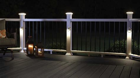 Outdoor Deck Post Lighting Guide To Selecting Railing For Your Porch Deck Talk