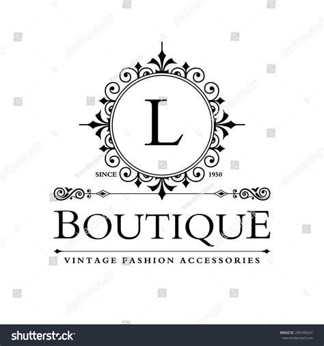 Letter Boutique L Letter Logo Monogram Design Elements Line Logo Design Beautiful Boutique Logo Designs