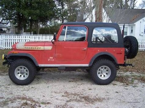 76 Jeep Cj7 Buy Used 76 Cj7 Renegade With 350 Mod In Knoxville Tn