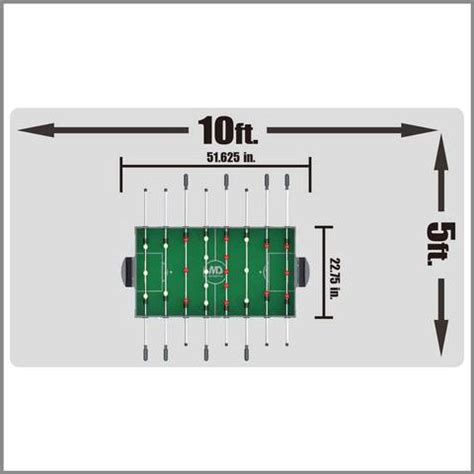 foosball table dimensions plans www pixshark