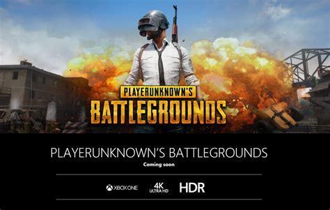 pubg xbox tips เผยเกม playerunknown s battlegrounds จะม ให เล นบน xbox