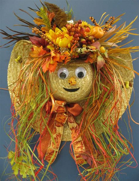 scarecrow decorations fall fall scarecrow craft ideas